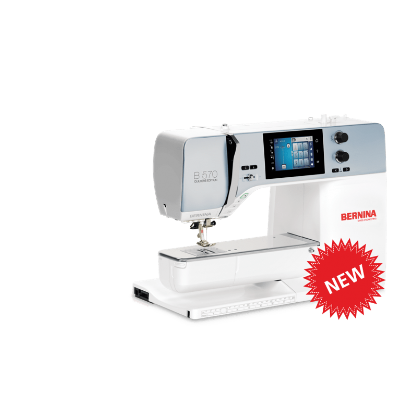 Bernina New S 570qe Sewing And Quilting Machine