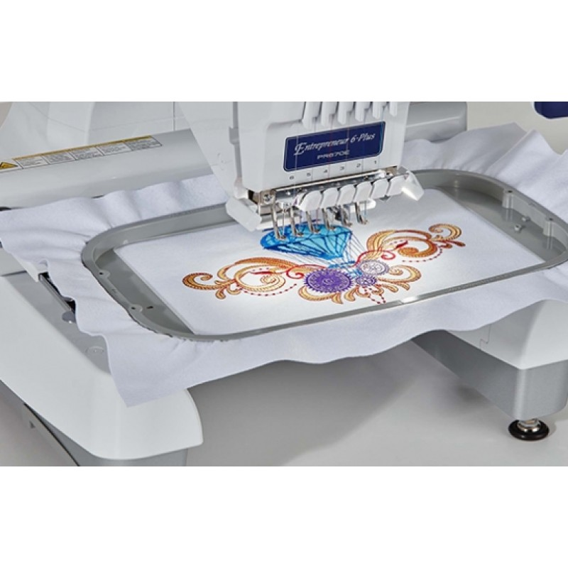 pr embroidery machine