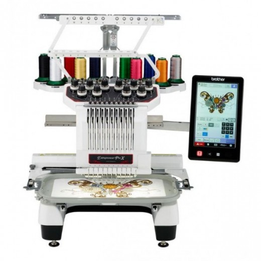 Brother PR1050X Semi commercial Embroidery Machine