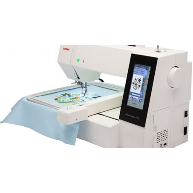 Janome e embroidery machine