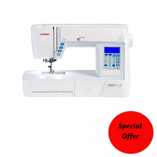 Janome Atelier 3 Sewing Machine
