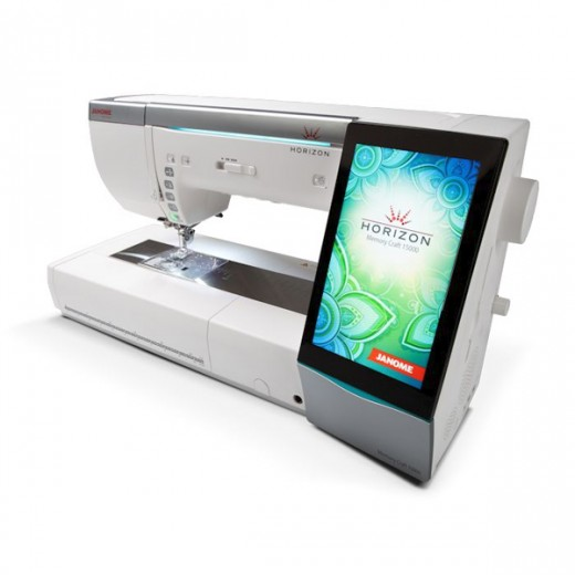 Janome Memory Craft 15000 V2 Ex Demonstration Model