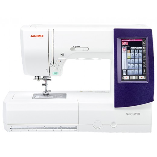 Janome Memory Craft 9850 Embroidery and Quilting Machine