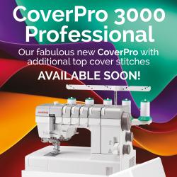 Janome CP3000P Cover Stitch machine