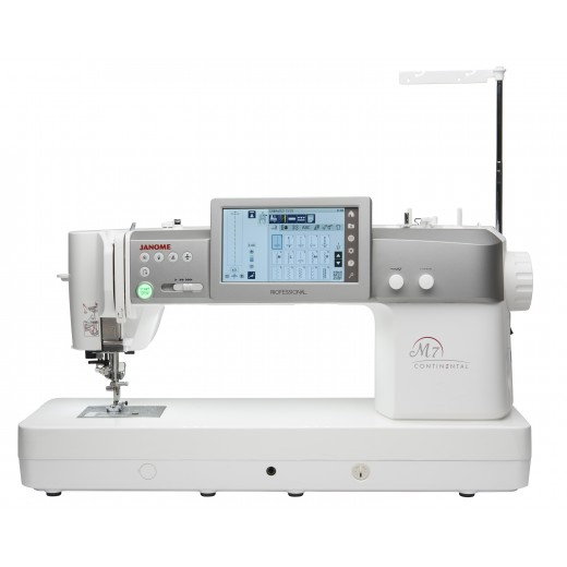 Janome M7 Continental. Sewing and Quilting Machine