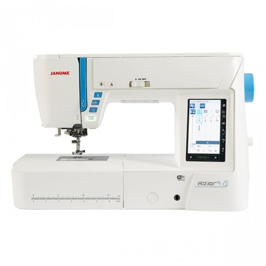 (Display Model) Janome Atelier 9 Sewing & Embroidery machine