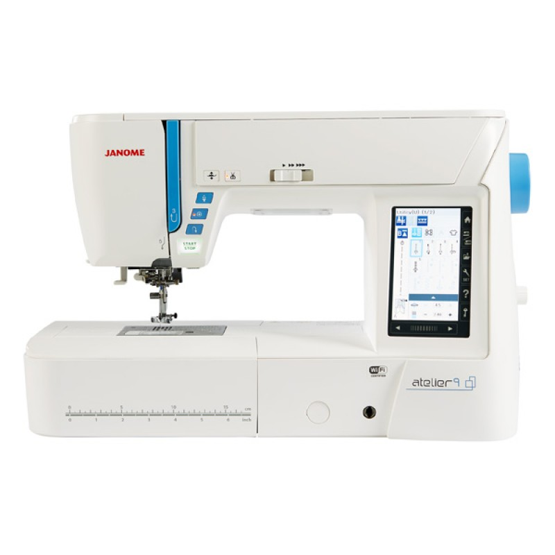 Janome atelier sewing embroidery machine new