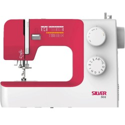 Silver 302 Sewing Machine