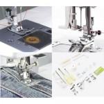 Silver 8000E Sewing Machine