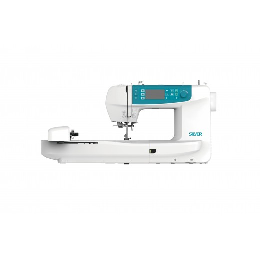 Silver CH01 Embroidery & Sewing Machine